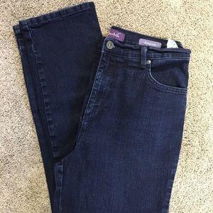 Gloria Vanderbilt Amanda Blue Denim Jeans Missy 10